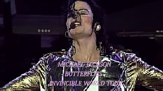 Michael Jackson Butterflies Invincible World Tour