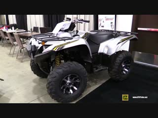 2018 Yamaha Grizzly 700 Special Edition - Walkaround - 2017 Toronto Snowmobile ATV Show
