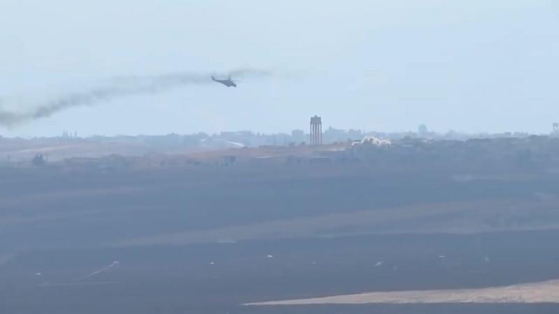 МИ-24 устроили ад террористам в сирии