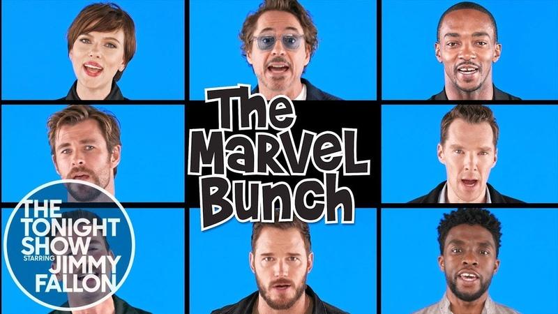 Avengers: Infinity War Cast - The Marvel Bunch