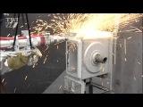 Лазерный резак для разрезания труб на АЭС