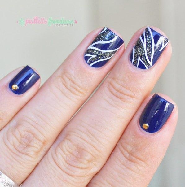 Дизайн бульонки для ногтей