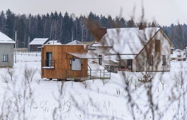Микро-дом из Белоруссии.