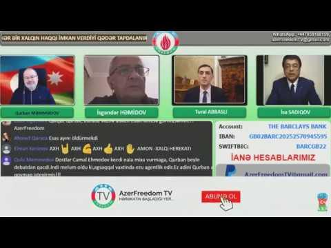 09.02.2019 İsgəndər Həmidov, İsa Sadıqov, Tural Abbaslı.