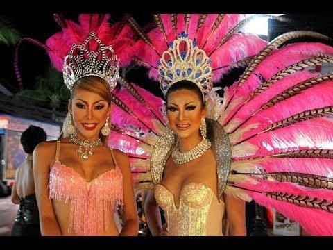 Тайланд 2018 КАФЕ ТРАНСВЕСТИТОВ? Как добраться с Рейли/Railay в город Краби/Krabi-town. Белый храм
