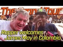 The Grand Tour Rappers Welcomes James May