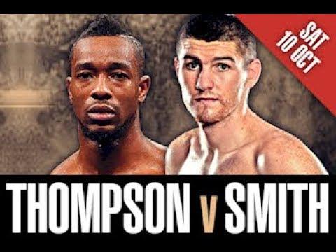 Лиам Смит VS John Thompson