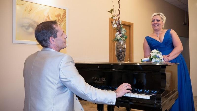 Регистрация брака Александр и Наталья   Свадебная видеосъемка в СПб, свадебный видеограф