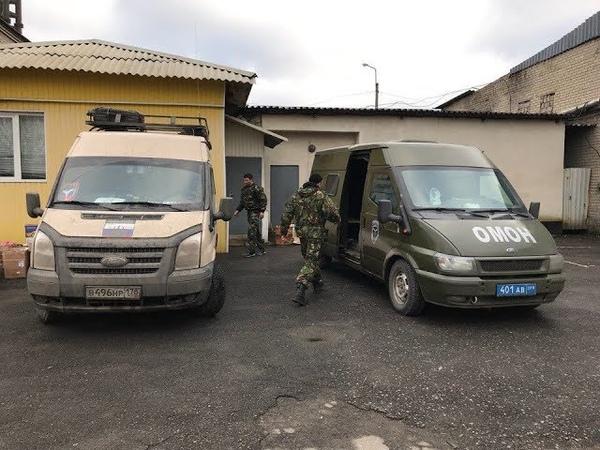 20йКараван Наш первый броневик несёт службу на Донбассе