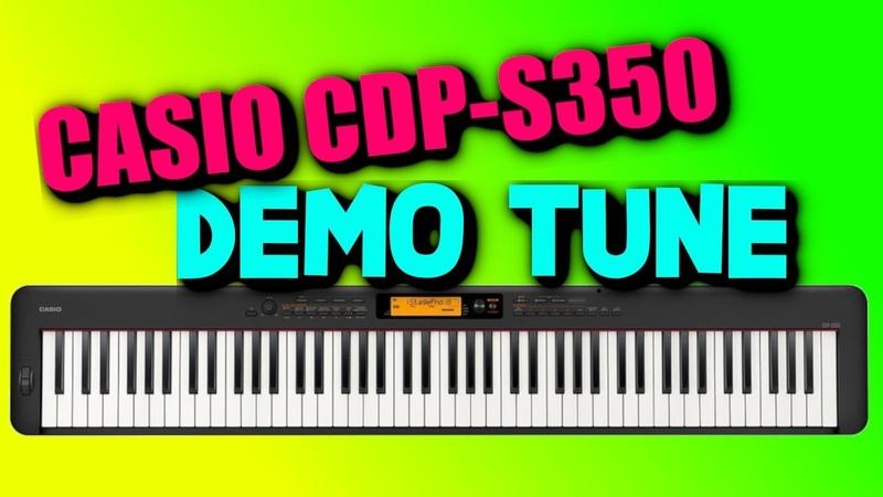 CASIO CDP S350 FACTORY DEMO TUNE 88 Keys Piano Arranger Keyboard