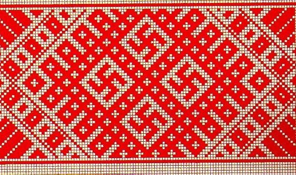 Схема для вышивки и ткачества.