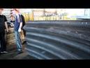 Cборка конструкции из супергофра в цехе КТЦ Металлоконструкция/Corrugated structures and pipes