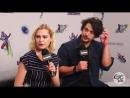 Интервью для Entertainment Weekly в рамках Comic-Con 2018