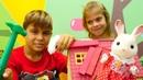 Çocuk videoları Sylvanian families Tavşan evi kırılmış