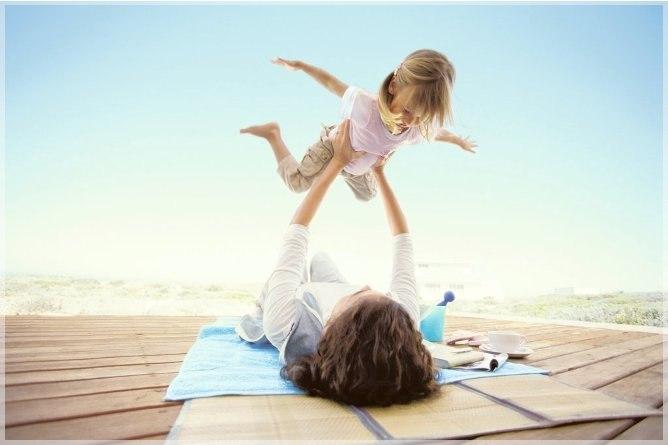 как научить детей летать