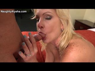Naughty Alysha (Непослушная Алиша) трахнулась со своим менеджером