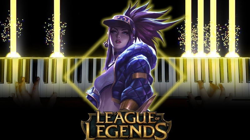 [League of Legends] POPSTARS - KDA ft. Madison Beer, (G)I-DLE, Jaira Burns (Piano)