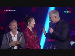 ¡Natalia Oreiro es coach por una noche! - La Voz Argentina 07.12.2018