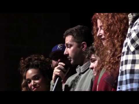 Honey Boy Sundance World Premiere QA with Shia LaBeouf