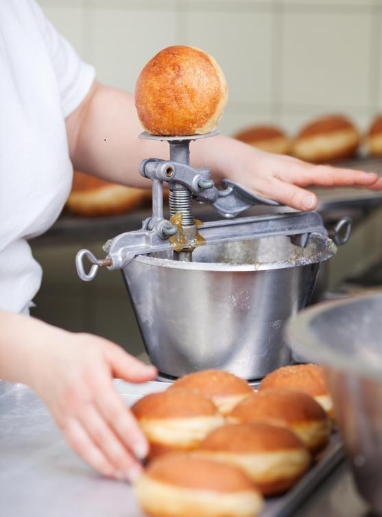 Пекарни могут заниматься пончиками.