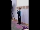 Ивашин Артём, 8 лет. Конкурс чтецов Доброта в радость в голицынской библиотеке 6 апреля 2018.