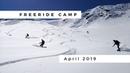 Snowboarding Freeride Camp April 2019 GoRide Base Camp GootTimes incl GoFun Crew GoPro Hero7