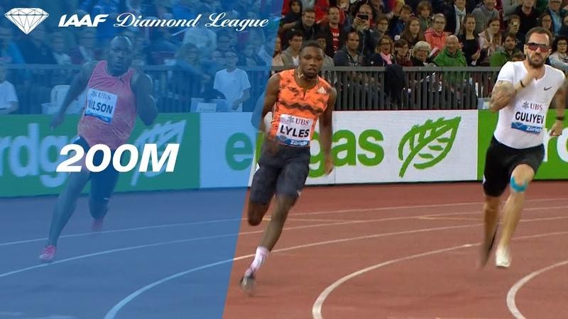 Noah Lyles Track Scorching Run Wins the Diamond League 200 meter Final