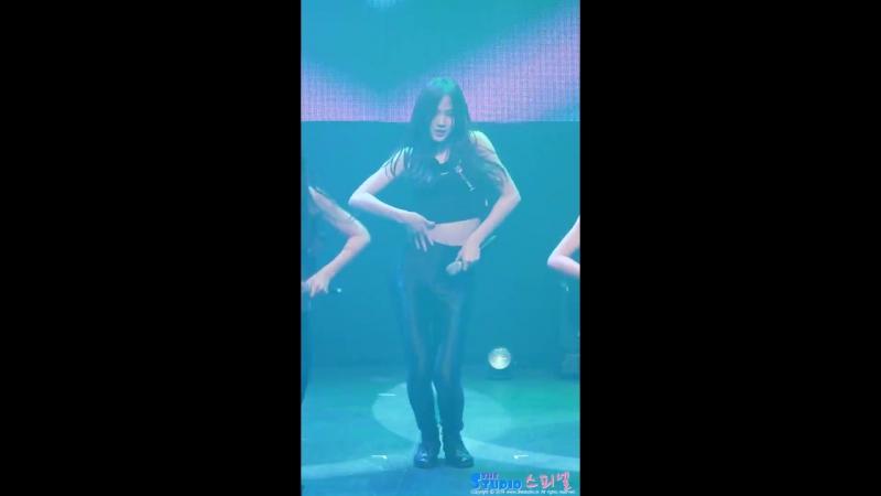 180617 iMe girls (아이엠이걸즈) 박수민 - trouble 4K 직캠 @ DreamNote 쇼케이스 by Spinel | Sumin
