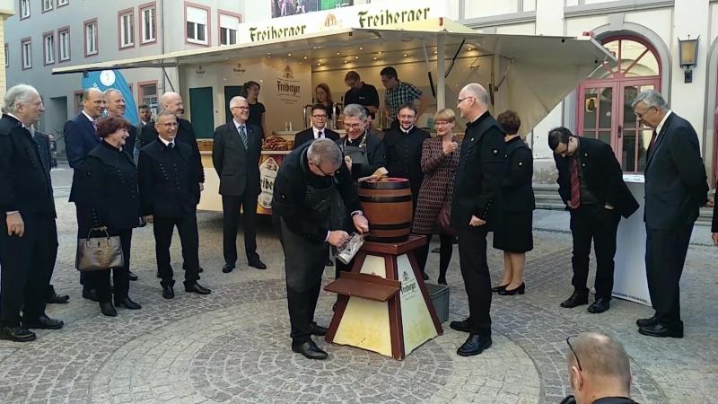 TU Bergakademie Freiberg. Akademische Feier 16.10.2018