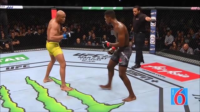 UFC Adesanya vs Silva
