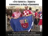 Хорваты извинились за Виду и Вукоевича