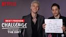 Pete Davidson and Colson Baker (aka Machine Gun Kelly) Best Friends Challenge   The Dirt   Netflix