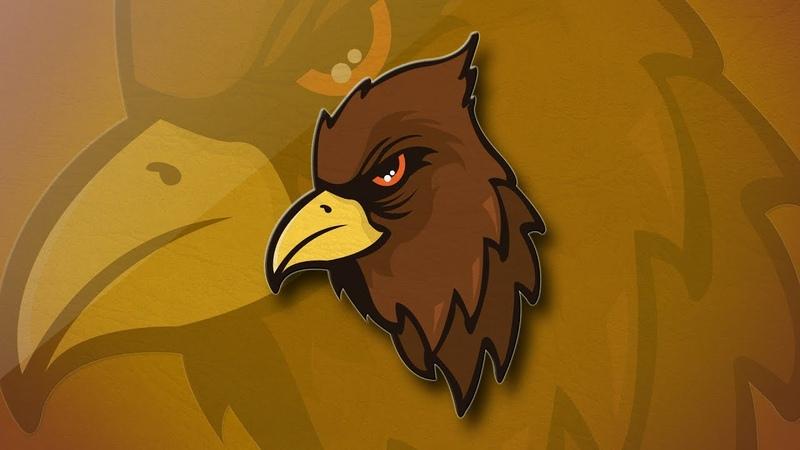 Mascot Eagle Logo Design