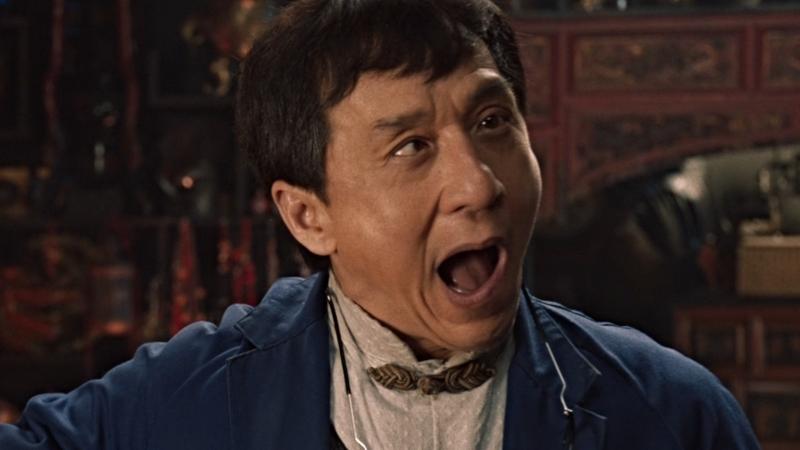 Джеки Чан и неудачные дубли мультфильма «ЛЕГО Ниндзяго Фильм»