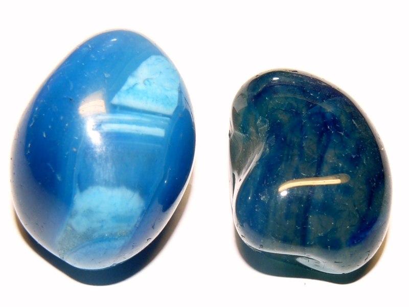 Минералы Сокровища Земли №43 - Голубой агат