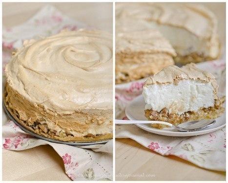 Ореховый торт с меренгой