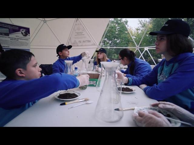 Купольные шатры Vitamin-Z в полевом лагере ГЕОАРТЕК