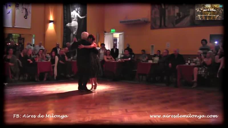 62 años bailando tango, maestro Jorge Garcia en Salón Caning, milonga Parakultural