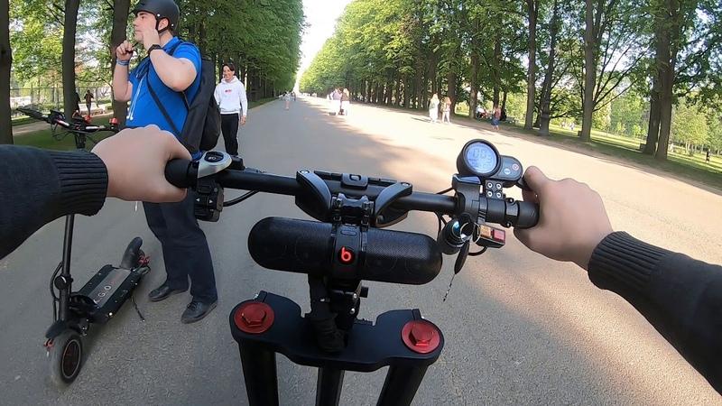 Санкт-Петербург - Встреча с подписчиками. Часть 1. Электросамокат - Yokamura RS
