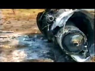 Съёмка на месте катастрофы Ил-76