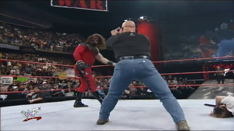 Stone Cold Will Strike Anything That Moves!