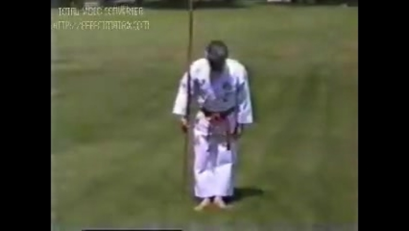 Fusei Kise - kata Bo Shodan