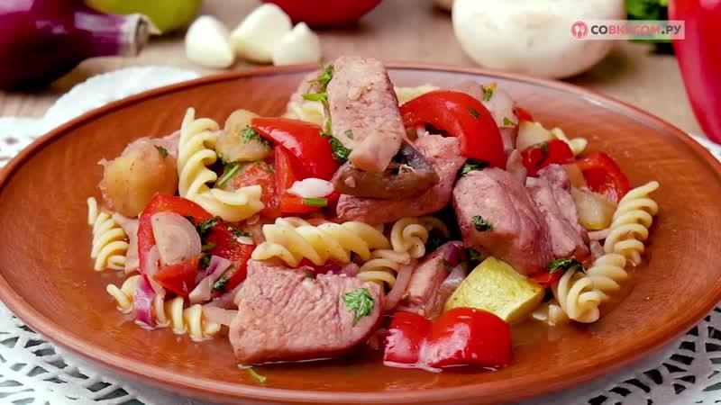 Как приготовить рагу с макаронами Рецепты от Со Вкусом