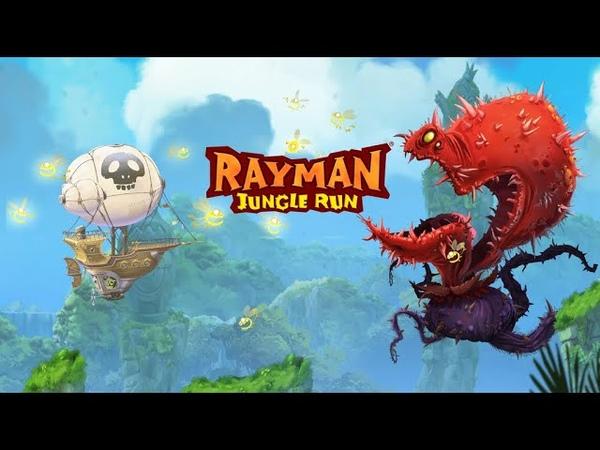 Mobile gaming Rayman jungle run Отличная игрушка в жанре time kill