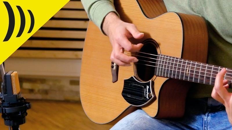 SamJam The Guitar Snare Schlagwerk SJ110 Luca Stricagnoli English