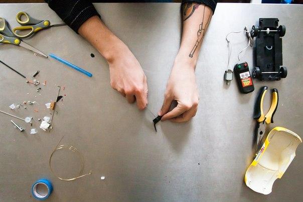 Как сделать ручку для тату в домашних условиях 938