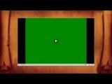 Зелёный экран при просмотре видео Онлайн