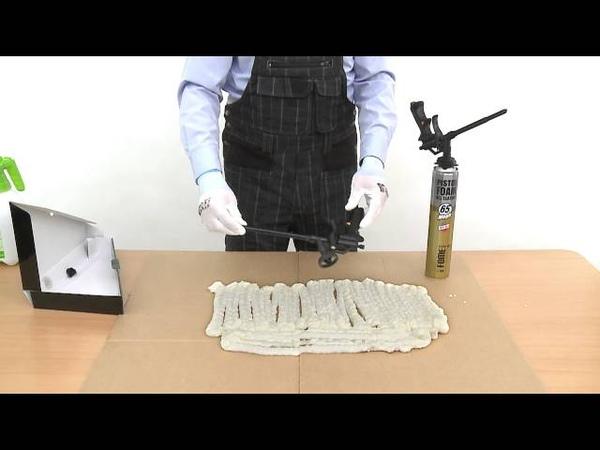Fome Flex Black Edition - тефлоновый пистолет для монтажной пены
