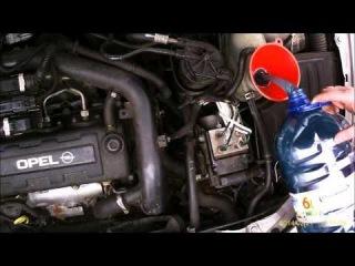 1.7DTI 1.7DI isuzu wymiana termostatu, niedogrzany silnik Corsa C