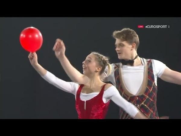 Александра БОЙКОВА Дмитрий КОЗЛОВСКИЙ Гала 2018 Скейт Канада, Показательные Выступления